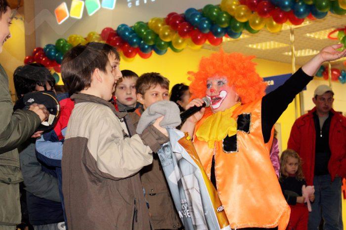 Открытие магазина Детский Мир