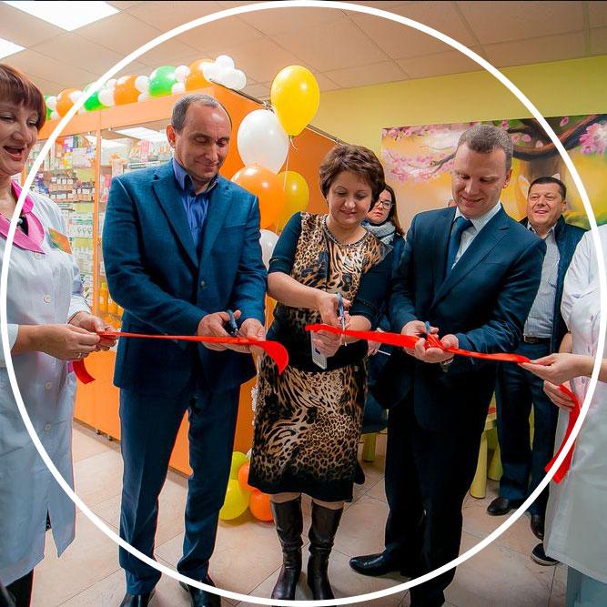 Торжественное открытие салонов и магазинов в Калуге