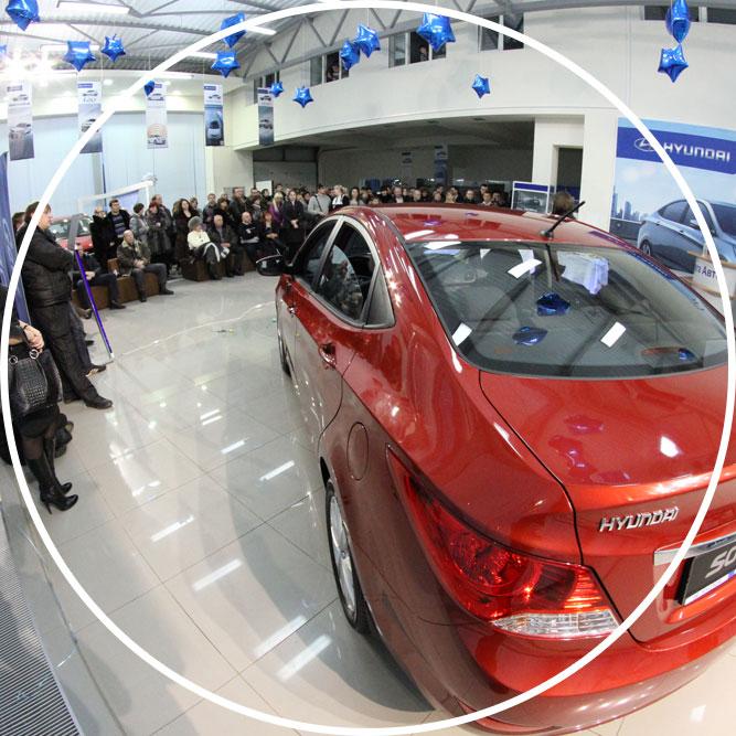 Презентация автомобиля «Huyndai Solaris» в Калуге / Event-агентство «Idea»