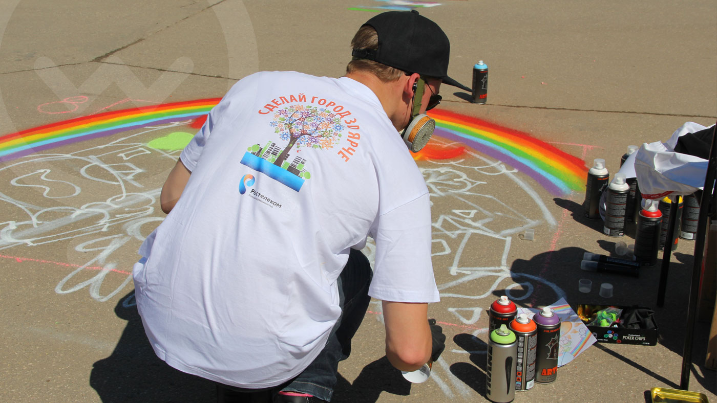 Фестиваль граффити «Сделай город ярче»