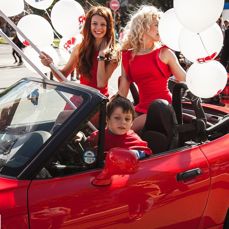 Участие в карнавальном шествии на День Города (Калуга)