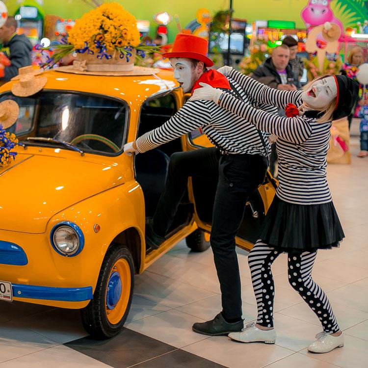 Праздники и тематические мероприятия в торговых комплексах
